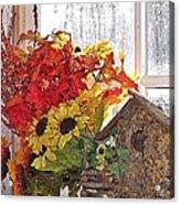 A Window Arrangement Acrylic Print