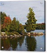 Algonquin - Canoe Lake Acrylic Print