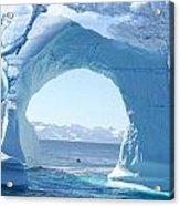 Angel And Iceberg Acrylic Print
