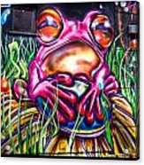 Atomic Frog Acrylic Print
