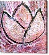 Awakening - The Lotus Acrylic Print