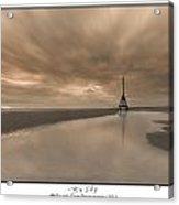 Big Sky - Channel Marker Acrylic Print