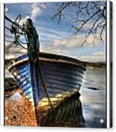 Blues - Boat Acrylic Print