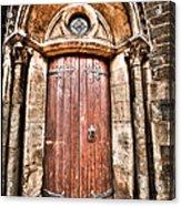 Bronze - Old Door Acrylic Print