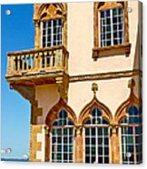 Ca D Zan  Winter Home Of John And Mable Ringling Acrylic Print