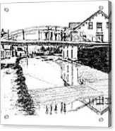 Canal Ellenville Acrylic Print
