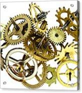 Clockwork Mechanism Acrylic Print