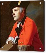 Colonel John Montresor  Acrylic Print by John Singleton Copley