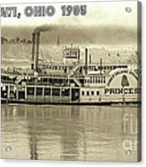 Coney Island Steamer Princess Acrylic Print