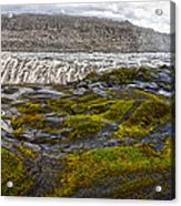 Detifoss Waterfall In Iceland - 03 Acrylic Print