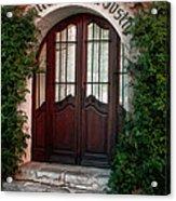 Doorway Eze  Acrylic Print
