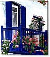 Greek Isles - Mykonos Acrylic Print