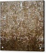 Grunge Concrete Wall Texture Acrylic Print
