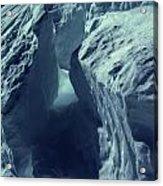 Ice Snow In Austria Mountain   Acrylic Print
