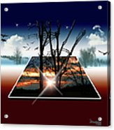 Into Another Dimension  Acrylic Print