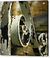 Iron Gate Acrylic Print by Jacqui Collett