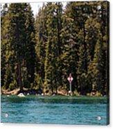Lake Tahoe Sugar Pine Point Light Acrylic Print