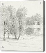Landscape - Late 19th-early 20th Century Acrylic Print