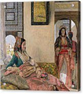 Life In The Harem - Cairo Acrylic Print