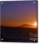 Light Sunset Acrylic Print