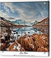 Llyn Ogwen Acrylic Print