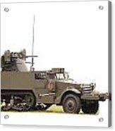 M16 Halftrack Acrylic Print