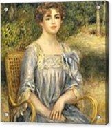 Madame Gaston Bernheim De Villers  Acrylic Print