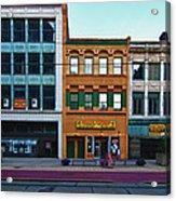 Main Street Decay 11429 Acrylic Print