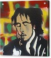 Marley Soul Guitar Acrylic Print