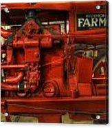 Mccormick Tractor - Farm Equipment  - Nostalgia - Vintage Acrylic Print