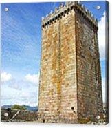 Melgaco Castle  In The North Of Portugal Acrylic Print by Inacio Pires
