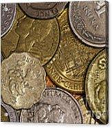 Money Money Money Acrylic Print