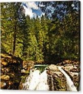 Nooksack Falls  Acrylic Print