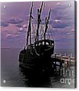 Notorious The Pirate Ship 5 Acrylic Print