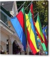 Olcott Flags  7183 Acrylic Print
