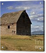 Old Big Sky Barn Acrylic Print
