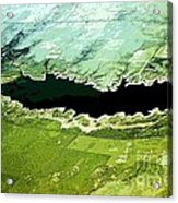 Over A Kansas Lake Acrylic Print