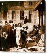 Pitie-salpetriere Hospital, 1795 Acrylic Print by Photo Researchers