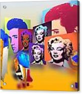 Pop Art Pop Up Acrylic Print