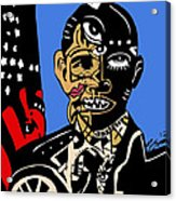 President Barack-obama Full Color Acrylic Print