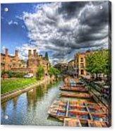 River Cam - Cambridge Acrylic Print