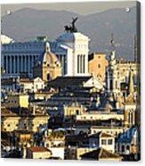 Rome's Rooftops Acrylic Print