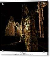 Ruins Acrylic Print