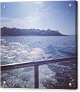 :) #sea #boat #bangor Acrylic Print