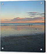 Solo By The Sea Acrylic Print