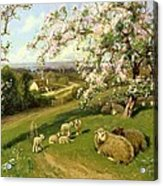 Spring - One Of A Set Of The Four Seasons  Acrylic Print