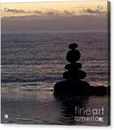 Stone Balance 5 Acrylic Print