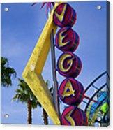 Vegas Sign Acrylic Print