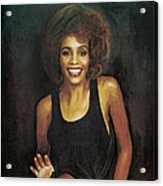 Whitney Elizabeth Houston Acrylic Print