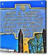 0001 Buffalo Ny History Acrylic Print